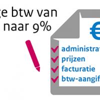 Verhoging laag BTW-tarief van 6% naar 9%