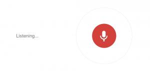 Voice search gaat een steeds grotere rol spelen in ons zoekgedrag
