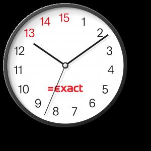 Wie met Exact werkt, houdt tijd over